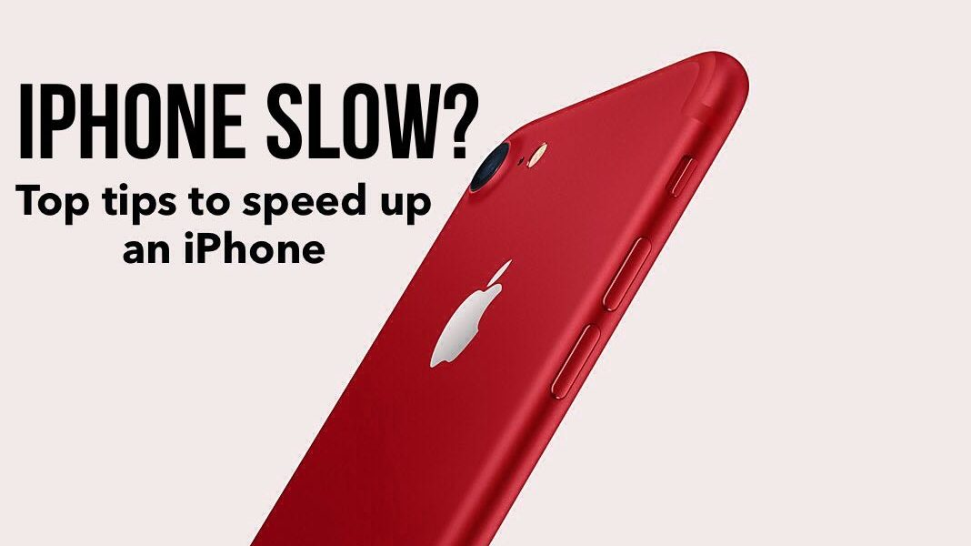 how to speed up my iphone iphone top tips to speed up an iphone smart phone 2757